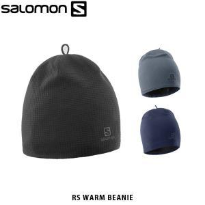 SALOMON サロモン メンズ レディース ユニセックス ニット帽 RS WARM BEANIE ビーニー 冬 アウトドア LC1137500 LC1137600 L39492500 SAL0258|hikyrm