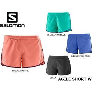 サロモン SALOMON レディース ショートパンツ AGILE SHORT W ランニングパンツ トレイルランニング トレラン SAL0454|hikyrm