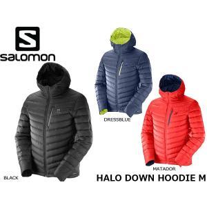 サロモン SALOMON メンズ ダウンジャケット HALO DOWN HOODIE M アウトドア トレッキング 登山 山登り SAL0462|hikyrm