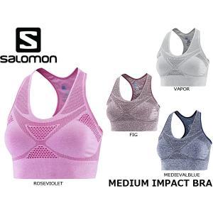 サロモン SALOMON レディース スポーツブラ MEDIUM IMPACT BRA スポーツインナー SAL0466|hikyrm