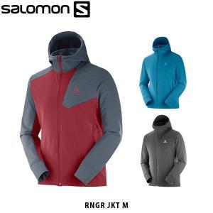 SALOMON サロモン メンズ ソフトシェル ジャケット RNGR JKT M ハイキング アウトドア SAL0641|hikyrm