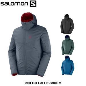SALOMON サロモン メンズ ジャケット リバーシブル DRIFTER LOFT HOODIE M アウター ソフトシェル アウトドア SAL0644|hikyrm