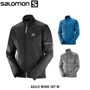 SALOMON サロモン メンズ ジャケット AGILE WIND JKT M ランニング ミドルレイヤー 耐風 ウィンドシェル ハイキング サイクリング アウトドア SAL0664|hikyrm