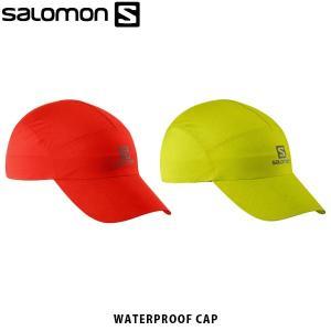 SALOMON サロモン メンズ レディース ユニセックス 帽子 キャップ WATERPROOF CAP トレイルランニング アウトドア LC1151700 LC1220800 SAL0717|hikyrm