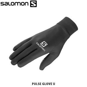 SALOMON サロモン メンズ レディース ユニセックス 手袋 グローブ PULSE GLOVE U アウトドア L40433500 SAL0725|hikyrm