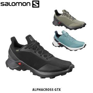 SALOMON サロモン メンズ トレイルランニングシューズ スニーカー ALPHACROSS GORE-TEX ゴアテックス アウトドア SAL0727 hikyrm