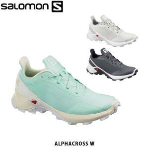 SALOMON サロモン レディース トレイルランニングシューズ スニーカー ALPHACROSS W アウトドア SAL0728|hikyrm