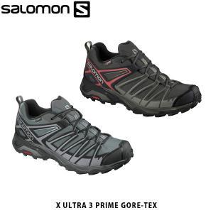 SALOMON サロモン メンズ ハイキングシューズ スニーカー X ULTRA 3 PRIME GORE-TEX ゴアテックス アウトドア SAL0746|hikyrm