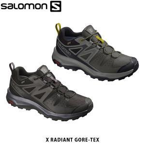 SALOMON サロモン メンズ ハイキングシューズ スニーカー X RADIANT GORE-TEX ゴアテックス アウトドア SAL0754|hikyrm