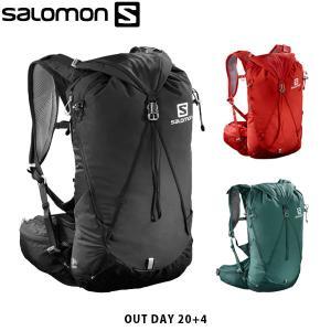 SALOMON サロモン OUT DAY 20+4 鞄 バックパック 24L バッグ リュック ハイキング 登山 アウトドア ユニセックス メンズ レディース SAL1013 国内正規品|hikyrm