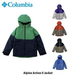 コロンビア Columbia キッズ ユース アウター アルパインアクション II ジャケット トップス 長袖 ジャケット 上着 防水 保温機能 SB0105 国内正規品 hikyrm