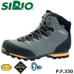 シリオ 登山靴 メンズ レディース トレッキングシューズ P.F.330 ミッドカット ゴアテックス 防水 ブーツ 登山 3E+ 幅広 日本人専用 SIRIO SIRPF330|hikyrm