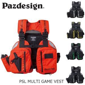 パズデザイン Pazdesign マルチゲームベスト PSL MULTI GAME VEST フィッシングベスト フィッシングベスト 釣り SLV-027 SLV027|hikyrm