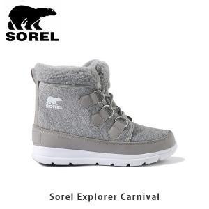 ソレル SOREL レディース ソレルエクスプローラーカーニバル ウィンターシューズ ショートブーツ シューズ 靴 Sorel Explorer Carnival SORLL5325|hikyrm