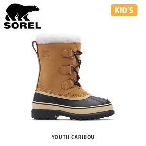 SOREL ソレル キッズ Youth Caribou ユースカリブー シューズ 靴 ブーツ ウィンターシューズ ウォータープルーフ アウトドア SORLY1000|hikyrm