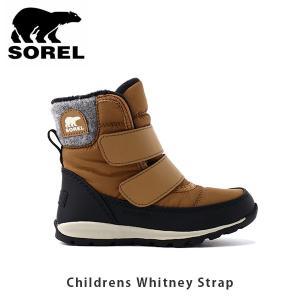 SOREL ソレル キッズ Childrens Whitney Strap チルドレンウィットニーストラップ シューズ 靴 ブーツ ウィンターシューズ アウトドア 子供用 SORNC3494|hikyrm