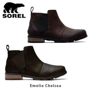 ソレル SOREL レディース エミリーチェルシー ショートブーツ ウォータープルーフ カジュアル シューズ 靴 Emelie Chelsea SORNL2671|hikyrm