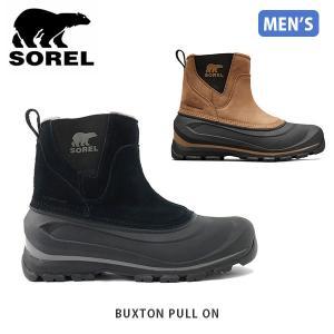 ソレル SOREL メンズ スノーブーツ バクストンプルオン BUXTON PULL ON シューズ 靴 ショートブーツ 全天候タイプ ウォータープルーフ 防水 SORNM2738|hikyrm