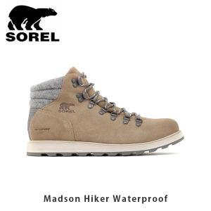 SOREL ソレル メンズ Madson Hiker Waterproof マドソンハイカーウォータープルーフ シューズ 靴 マウンテンブーツ ウィンターシューズ 防水 SORNM3476|hikyrm