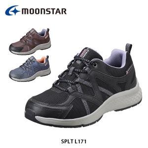 ムーンスター レディース シューズ SPLT L171 靴 スニーカー 4E ワイド設計 つま先ゆったり 抗菌防臭 防水設計 MOONSTAR SPLTL171 hikyrm