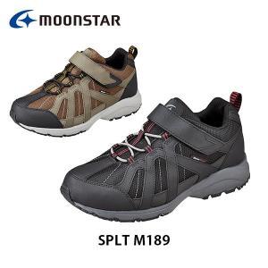 ムーンスター メンズ シューズ スニーカー SPLT M189 ワイド設計ふわピタ中敷 防水設計 靴 5E 男性用 月星 MOONSTAR SPLTM189|hikyrm