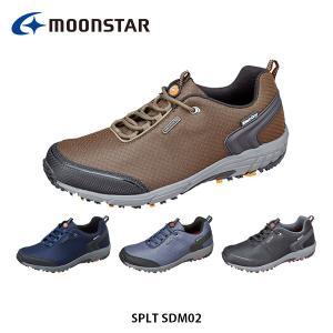 ムーンスター メンズ アウトドアシューズ スニーカー SPLT SDM02 4E 防水設計 サラリーナ Shut Dry アウトドア 男性 紳士靴 月星 MOONSTAR SPLTSDM02 hikyrm