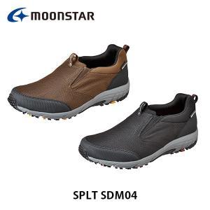 ムーンスター メンズ シューズ スニーカー SPLT SDM04 ワイド設計 防水設計 靴 4E 男性用 月星 MOONSTAR SPLTSDM04|hikyrm