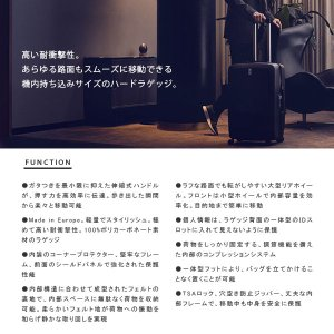THULE スーリー Revolve Carry On Spinner 33L キャリーケース ハードラゲッジ スーツケース 軽量 ビジネスバッグ TRGC-122 THUTRGC122|hikyrm|02