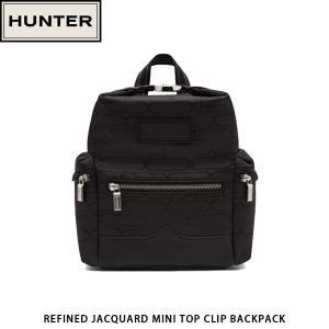 HUNTER ハンター リュックサック バックパック ミニ REFINED JACQUARD MINI TOP CLIP BACKPACK UBB1109JPO 国内正規品|hikyrm
