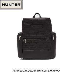 HUNTER ハンター リュックサック バックパック REFINED JACQUARD TOP CLIP BACKPACK 通勤 通学 UBB1110JPO 国内正規品|hikyrm