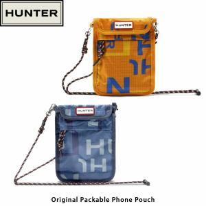 HUNTER ハンター ミニショルダー オリジナルパッカブル フォン ポーチ ORIGINAL PACKABLE PHONE POUCH 男女兼用 サコッシュ UBP7012NSP 国内正規品|hikyrm