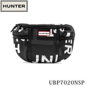 HUNTER ハンター ウエストバッグ オリジナル プリント ナイロン バムバッグ ORIGINAL PRINTED NYLON BUMBAG ウエストポーチ UBP7020NSP 国内正規品|hikyrm