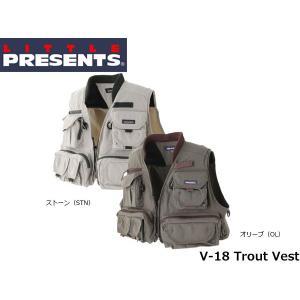 リトルプレゼンツ LITTLE PRESENTS TR ベストTrout Vest V-18 V18|hikyrm