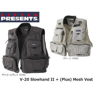 リトルプレゼンツ LITTLE PRESENTS スローハンドII+(Plus) メッシュ Slowhand II + (Plus) Mesh Vest V-20 V20|hikyrm