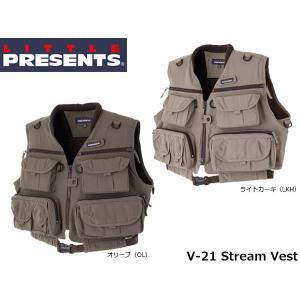 リトルプレゼンツ LITTLE PRESENTS ストリームベスト Stream Vest V-21 V21|hikyrm