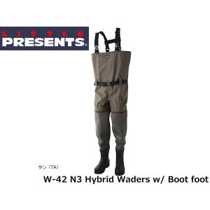 リトルプレゼンツ LITTLE PRESENTS N3 ハイブリッド ブーツウェーダー N3 Hybrid Waders w/ Boot foot W-42 W42|hikyrm