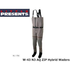 リトルプレゼンツ LITTLE PRESENTS N3 AQ ZIP ハイブリッドウェーダー N3 AQ ZIP Hybrid Waders W-43 W43|hikyrm