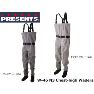 リトルプレゼンツ LITTLE PRESENTS N3 チェストハイウェーダー N3 Chest-high Waders W-46 W46|hikyrm