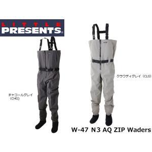 リトルプレゼンツ LITTLE PRESENTS N3 AQ ZIP ウェーダー N3 AQ ZIP Waders W-47 W47|hikyrm
