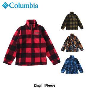 Columbia コロンビア キッズ ジング III フリース Zing III Fleece キャンプ アウトドア ハイキング 子供 WB6777 国内正規品|hikyrm