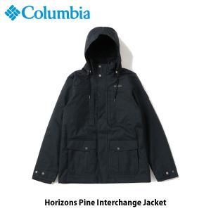 コロンビア Columbia メンズ アウター ホリゾンズパインインターチェンジジャケット 長袖 ジャケット 上着 保温機能 アウトドア キャンプ WE7215 国内正規品|hikyrm