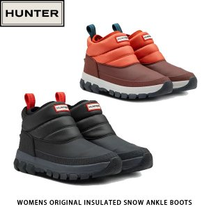 HUNTER ハンター レディース オリジナル インシュレーテッド アンクル スノーブーツ WOMENS ORIGINAL INSULATED SNOW ANKLE BOOTS WFS2049WWU 国内正規品|hikyrm