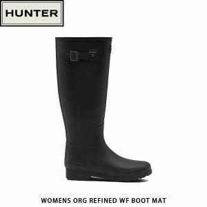 HUNTER ハンター レディース レインブーツ オリジナル リファインド トール WOMENS ORG REFINED WF BOOT MAT WFT2004RMA 国内正規品|hikyrm