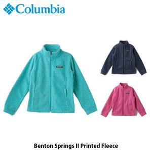 コロンビア Columbia キッズ ユース アウター ベントンスプリングス II プリンテッドフリース トップス 長袖 ジャケット 上着 フリース WG6778 国内正規品|hikyrm