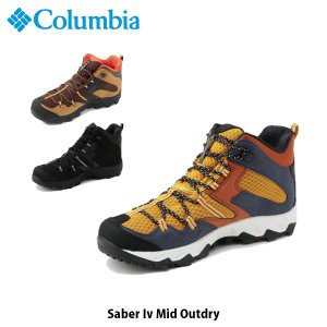 コロンビア Columbia メンズ トレッキングシューズ セイバー4ミッド アウトドライ トレイル 登山靴 防水 スニーカー シューズ 靴 YM7463 国内正規品|hikyrm