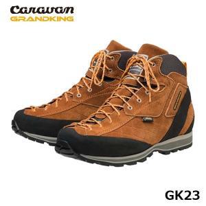 CARAVAN キャラバン グランドキング GK23 トレッキングシューズ アプリコット 登山靴 ゴアテックス GORE-TEX 防水 ブーツ CAR0011230350|hikyrm