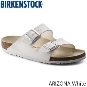 ビルケンシュトック BIRKENSTOCK レディース メンズ サンダル アリゾナ ARIZONA ベルト コンフォート カジュアル おしゃれ ホワイト 幅狭 GC051733 国内正規品|hikyrm
