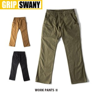 GRIP SWANY グリップスワニー パンツ ワークパンツII GSP-12 GSP12|hikyrm