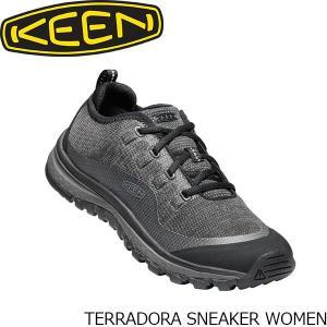 KEEN キーン スニーカー レディース テラドーラスニーカー TERRADORA SNEAKER WOMEN 1020528 Black×Raven KEE00941020528 国内正規品|hikyrm