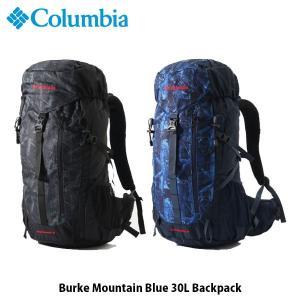 コロンビア Columbia リュックサック バークマウンテンブルー30Lバックパック BURKE MOUNTAIN BLUE 30L BACKPACK アウトドア PU8337 国内正規品|hikyrm
